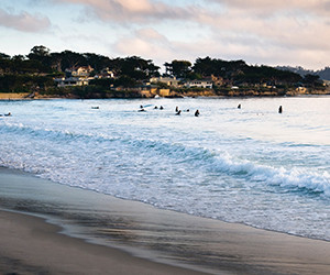 Carmel Beach By The Sea